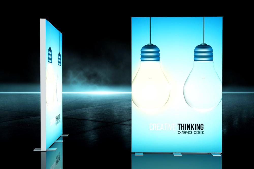freistehendes Octalumina LED-Display